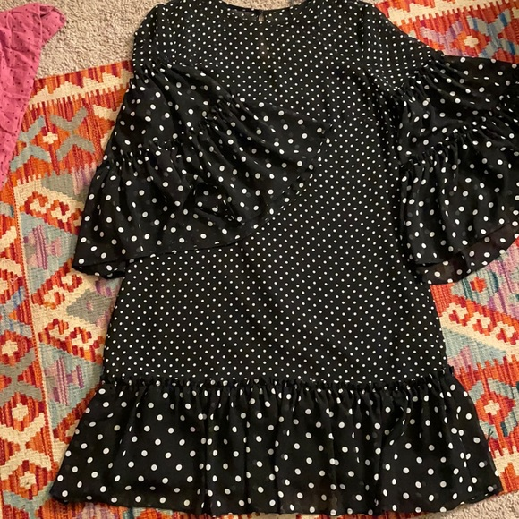 Polka dotted Eliza j dress